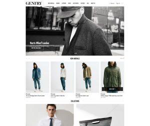 shopify-website-design-gentry-nyc-custom